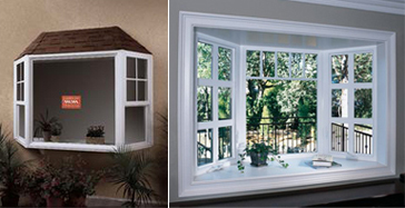 bayboy windows unlike garden windows which project out at 90 degrees bay and bow windows are angled a bay will normally have a center picture window and