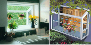Garden Windows: Garden Windows, Most Often Installed In Kitchens, Have The  Effect Of Making A Room Seem Larger, Particularly When Countertop Material  Is Run ...